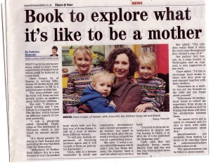Milestones of Motherhood features in the Times and Star, inviting local mums to get involved.